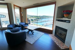 Sitting Area overlooking Marina