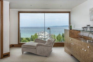 Large Windows Offer Fabulous Lake Views