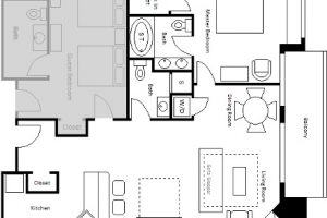 Parlor Suite Floor Plan