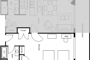 Standard Room Floor Plan