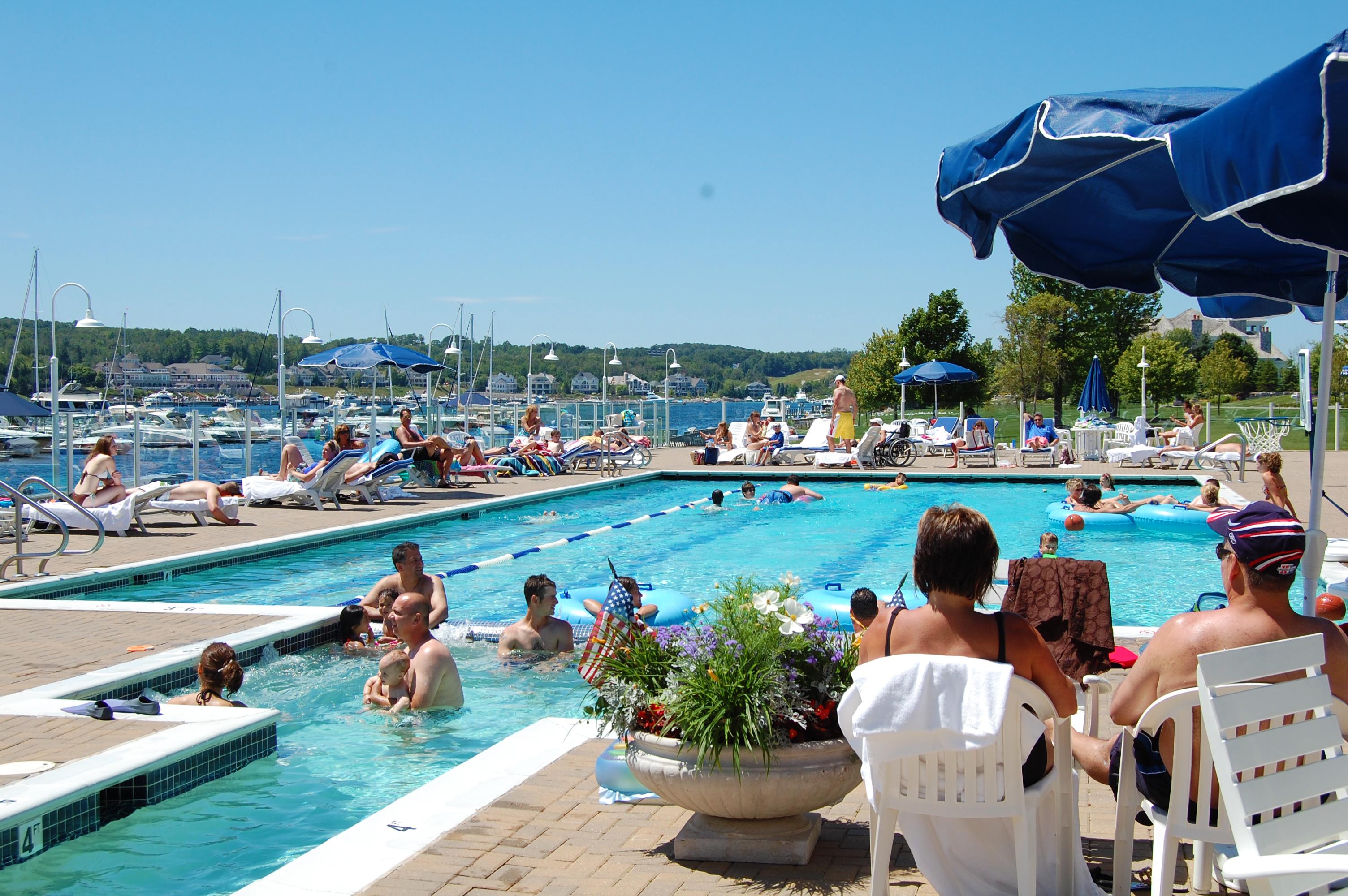 Enjoy the Summer Sun Poolside