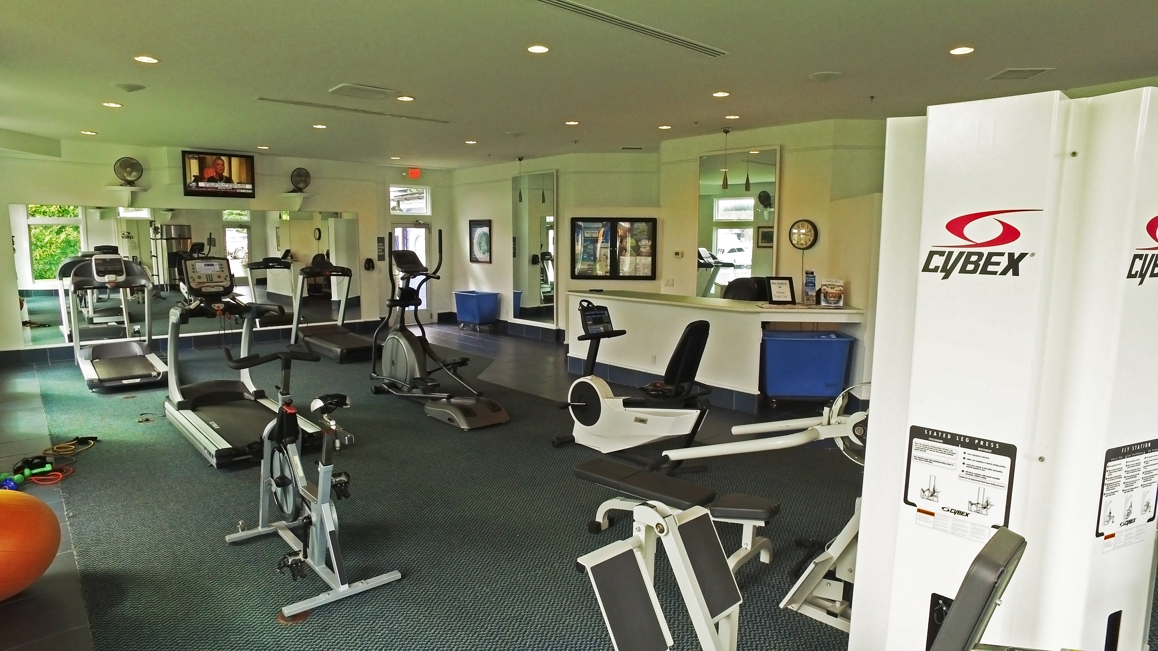 24 Hour Access Fitness Facility