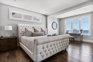 Expansive Master Bedroom with King